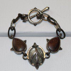 Lucky Brand Peace Bracelet